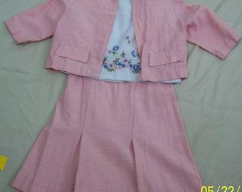 1960 Vintage Girls Dress