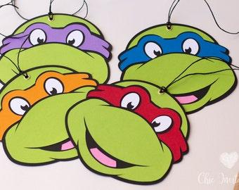 Ninja Turtle Invitation Boys Turtle Ninja Custom Invitation