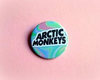 Artic monkeys - pinback button or magnet 1.5 Inch