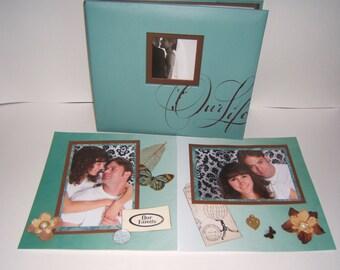 Family Scrapbook Album - Premade Family Scrapbook Album - Family Photo Album - Premade Family Photo Album - Family Gift Idea - Housewarming