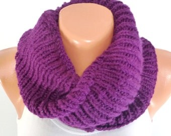 """Knitted Collar, Knit Neck Warmer, Hand Knit Scarf, hand knit collar, womens knitwear, winter accessory, soft warm scarf """"FREE SHIPPING"""""""