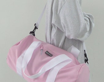 Weekend Barrel Bag Pink