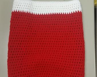 Crochet Cocoon w/Hat
