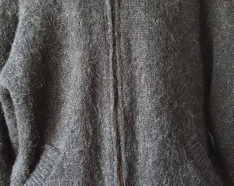 New Auth Vintage Icewear Men's Pocketed Zipper Sweater
