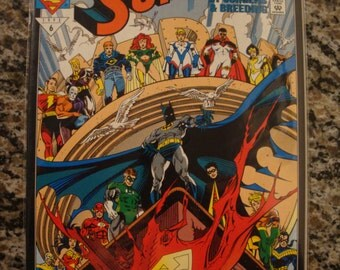 Superman- Issue 76 -Funeral for a Friend 4  DC comic book