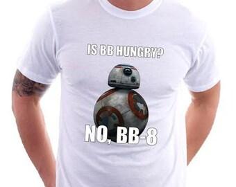 Is BB Hungry Shirt?  BB8 Star Wars Shirt