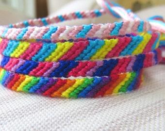 One Love Friendship Bracelets - LGBT - Rainbow - Transgender -  Bisexual - Pansexual