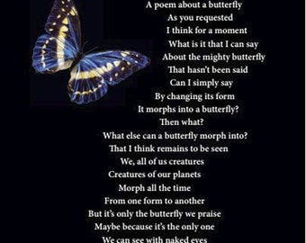 """Thought-Provoking Cards ~ """"THE BUTTERFLY"""" Greeting Card by Gulten Dye"""