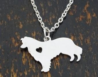 Alaskan Malamute Necklace, Alaskan Malamute Charm, Alaskan Malamute Pendant, Alaskan Malamute Jewelry, Siberian Husky Necklace, Dog Necklace