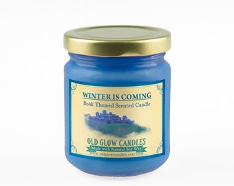 Winter Is Coming Scented Soy Candle - Game of Thrones