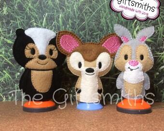 Deer & Friends Finger Puppets