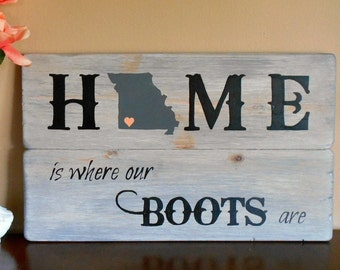 State Sign Wood Signs Sayings Home Signs Country Home Decor Wood Sign