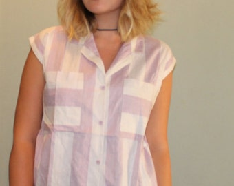 Vintage Striped Button-Up | Vintage button-up | Classic Button-up