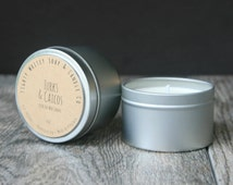 4 oz. Turks & Caicos - Soy Wax Candle - Travel Tin with Cotton Wick - Phthalate Free