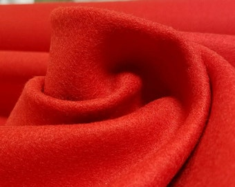 Tomato Red Wool Blend
