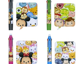 Disney Tsum Tsum Frixion Multi 3 Colors Pen 0.5mm