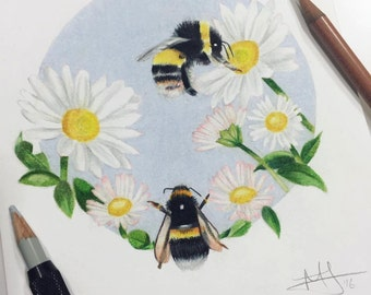 Save the Bee's Print