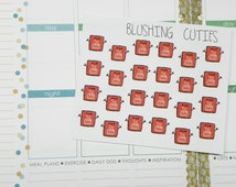 Kawaii Youtube Planner Stickers Planner Stickers,