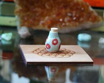 Miniature Phish Inspired Corked Jar