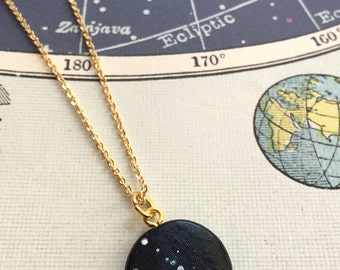 TAURUS constellation star sign necklace