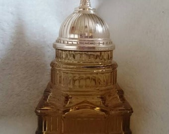 Avon Cologne Bottle, The Capitol, Collectible Avon, Vintage Avon, Vintage Cologne Bottle