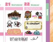 Munchkins - Las Vegas Travel the World Planner Stickers (M170)