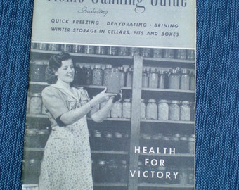 Home Canning Guide Book