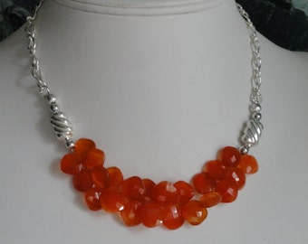Carnelian Necklace  #487