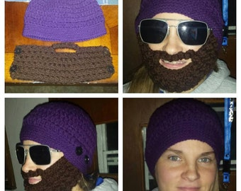 Bearded (detachable!) hat