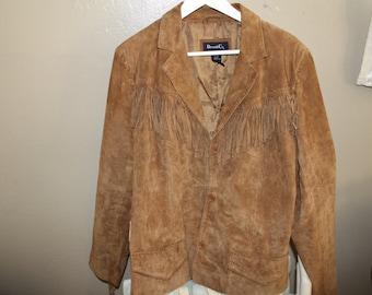 Suede Fringe jacket