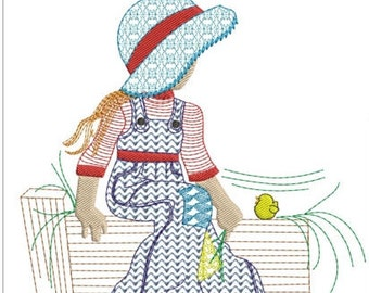 "Sarah kay machine embroidery download 5 different sizes(8x9 7x8  6x7 5x6 4x4"" hoop"")"