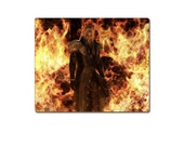 Final Fantasy VII Sephiroth Flames FF 7 Mousepad Videogame Mouse Pad Mousepad Mouse Mat Mouse pad featured image