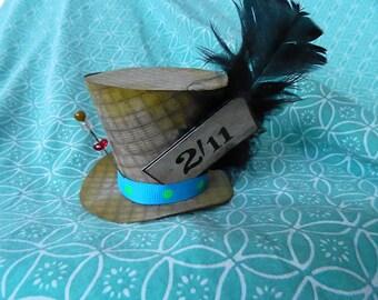 Handmade Mad Hatter paper hat