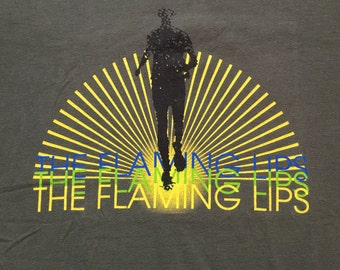 Rare The Flaming Lips The Soft Bulletin / Race for the Prize T-shirt