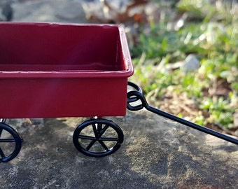 Miniature Little Red Wagon