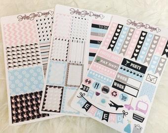 Nautical Girl Weekly Sticker Kit | Erin Condren & Plum Paper Planner
