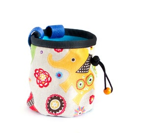 Climbing Bag Children Chalk Bag. Chalkbag for Kids. Small Chalk Bag Climbing Chalkbag. Rock Climbing Chalkbag, Size S