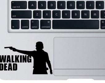 Walking Dead Decal Laptop Macbook Zobies Sticker WD Zombie Vinyl Sticker For Car Truck Window Wall