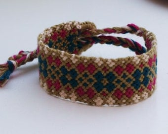 Hand Woven Friendship Bracelet  Hippie
