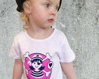 Girl Pirate Shirt, Pink Pirate, Girl Pirate Party, Pirate for Girl, Pirate Party, Pirate, Pirate Shirt, Girl T Shirt, Girl Gift, Pirate Girl