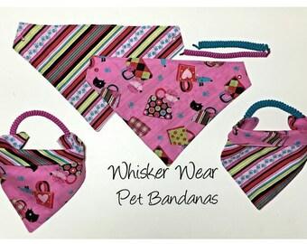 everyday wear, reversible dog scarf, dog bandana, pet scarf, pet bandana, pet attire, pet clothing,summer, reversible, everday wear,dog wear