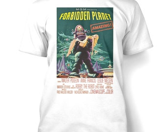 Forbidden Planet mens t-shirt