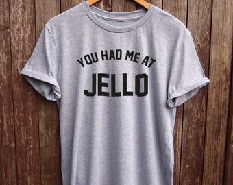 Jello shirt - funny t-shirts, food tshirt, fun t shirts, graphic tees, slogan shirts, food print, white shirts, jello t shirts, food shirt