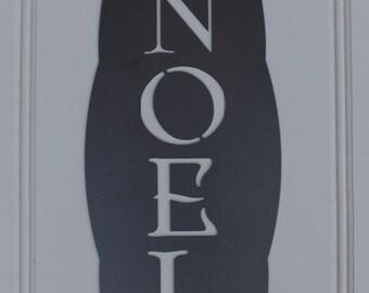 Metal Sign: Noel