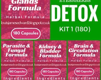 EyesNHerbs Detox Herbal Kit 1 (10% Off)