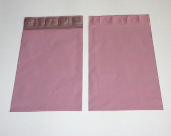 100 Pale Pink 6x9 Poly Mailers Self Sealing Envelopes Shipping Bags Valentine's Day