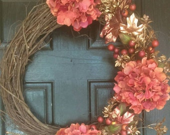 Fall wreath, front door wreaths, autumn wreaths, fall decorations, thanksgiving