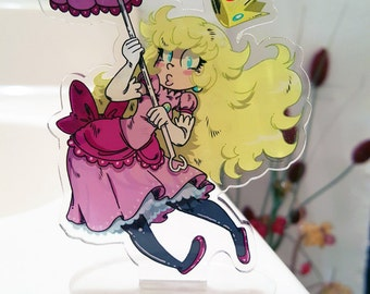 "Princess Peach 4 1/2"" Standing Charm."