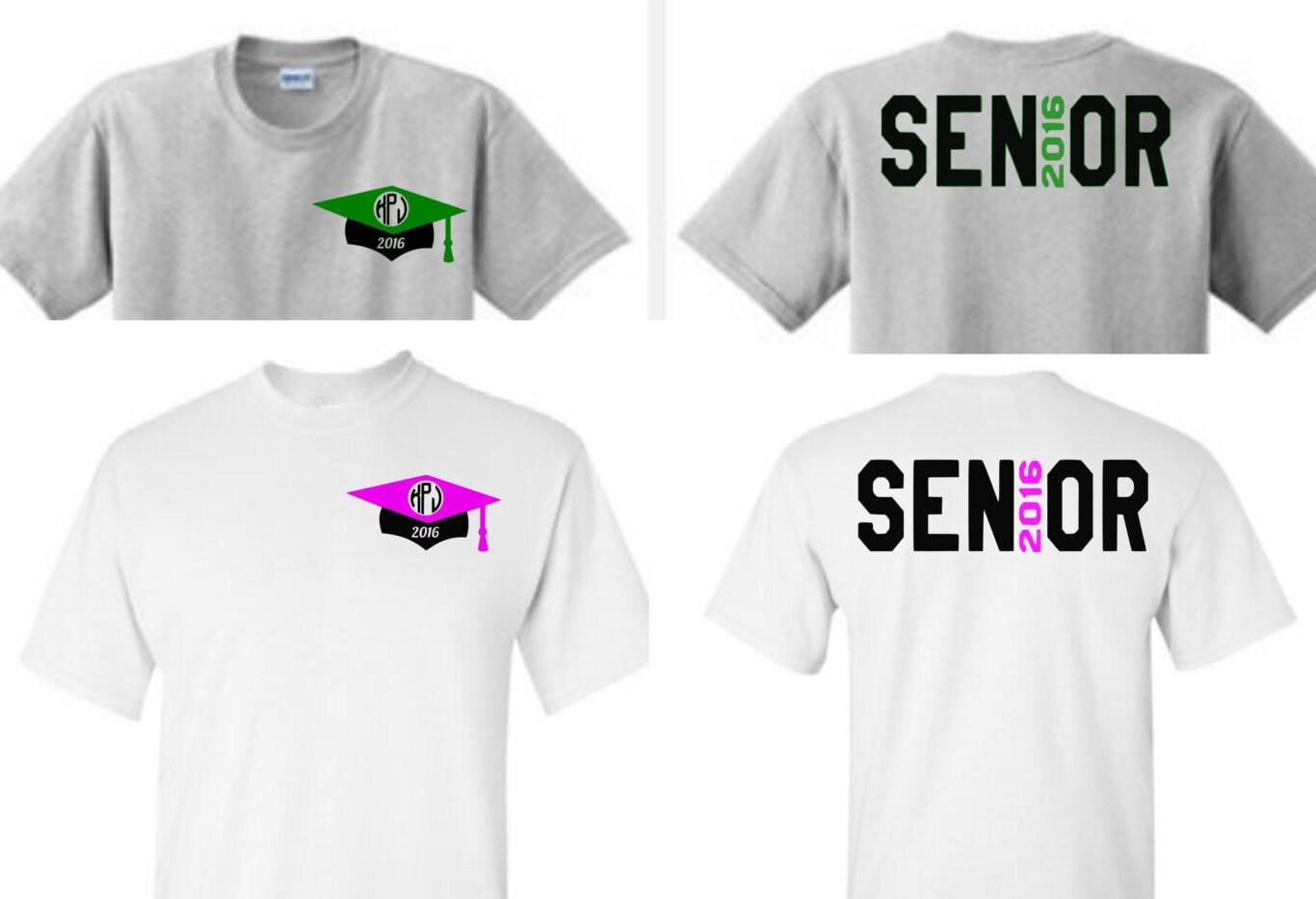Senior shirts 2018