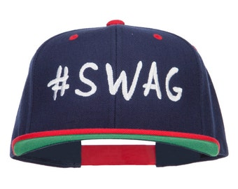 Swag Embroidered Two Tone Snapback